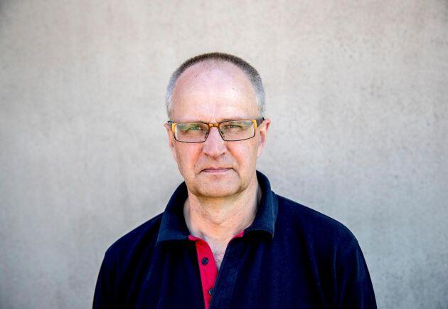 """Palle Borgström, ordförande för Lantbrukarnas riksförbund, säger att """"många har inte riktigt förstått hur allvarligt det här är och vilken situation det innebär för lantbrukare""""."""
