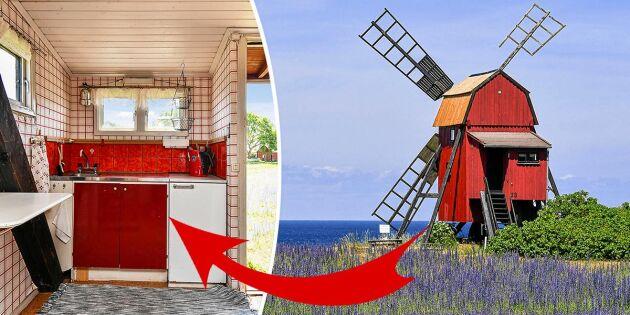 Spana in idylliska väderkvarnen –till salu för pangpris!