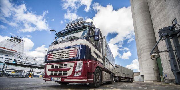Tufft läge för Volvos tunga lastbilar