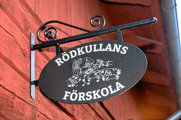 Förskolan Rödkullan är sprillans ny och öppnade i december 2017.