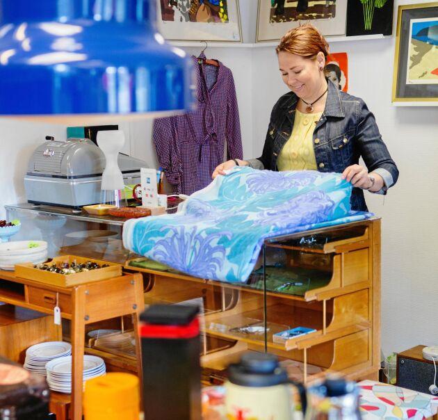 Retrobutiken Gavel 25 driver Ann-Charlott och Per på sin fritid.