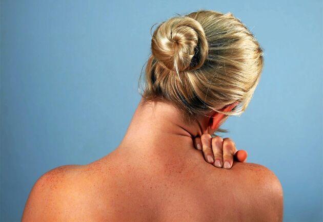 Smärtsyndromet fibromyalgi innebär långvarig smärta i nacken och flera delar av kroppen.