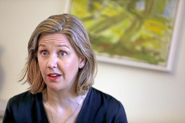 Miljöminister Karolina Skogs (MP).