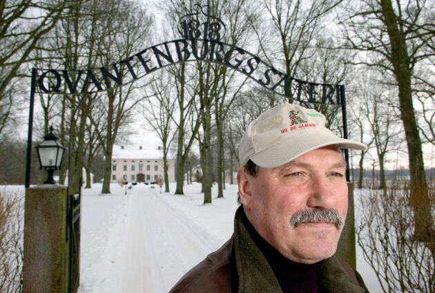 Verksamheten på Qvantenburgs säteri i Mellerud bestod förutom grisar av skog och vindkraft.