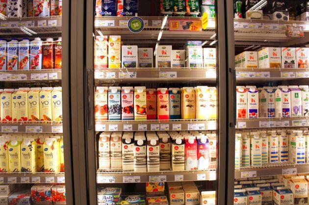 Mjölkpriset i handeln höjs under hösten.