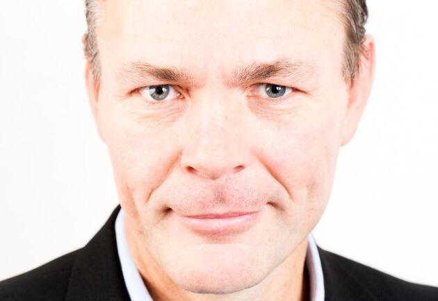 """""""Förnybara resurser är basen i ett hållbart samhälle men i framtiden kommer flödena gå till mer avancerade produkter med högre förädlingsvärde"""", tror Mikael Karlsson."""