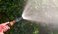 Myndigheterna: Var sparsamma med vattnet!