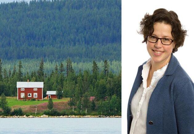 Vibeke Alstad svarar på frågor.