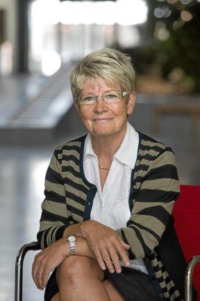Monika Stridsman, generaldirektör på Skogsstyrelsen, nummer 9 på listan.
