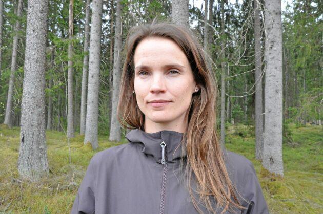 Sara Holmgren, statsvetare vid SLU i Uppsala, menar att rådgivningen till privata skogsägare kan utvecklas och breddas genom att kommuner efterfrågar annan typ av kunskaper och råd.