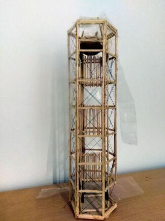 Prototyp för tornväxthus.