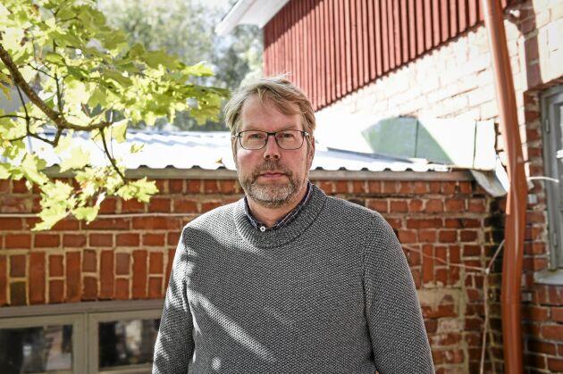 Markus Eerola, ekologisk spannmålsodlare på Knehtilä gård.