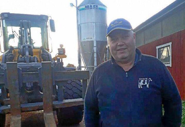 Fredrik Fröjd har tillsammans med sina grannar startat om ett dikningsföretag som legat vilande i 40 år.