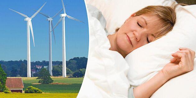 Svensk studie visar: Så kan vindkraften påverka sömnen