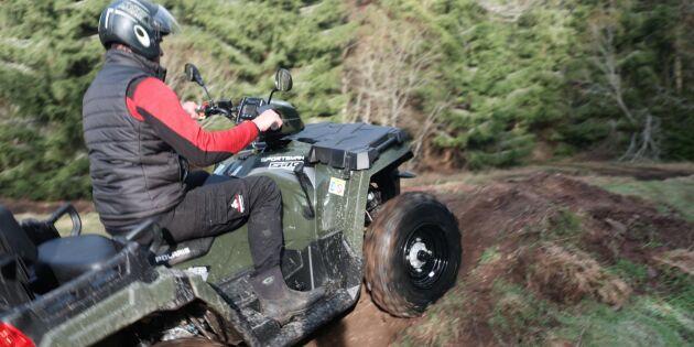 Brist på fyrhjulingar –men efterfrågan stiger