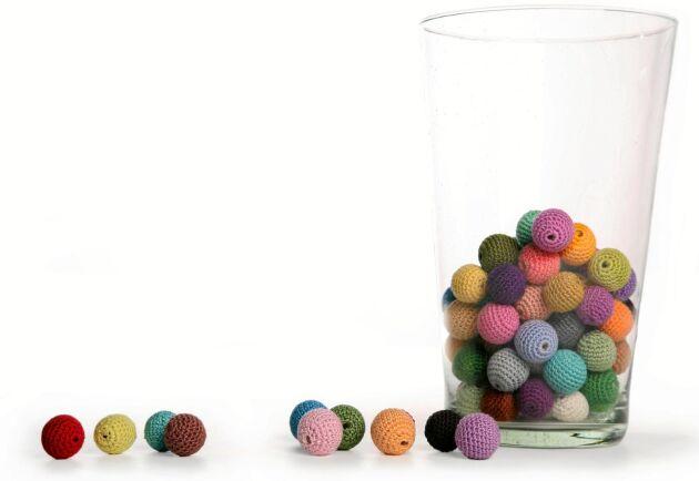 Små bollar blir bra restgarnsprojekt. Foto: Istock.