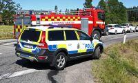 Skogsbrand vid Uddevalla - boende evakuerade