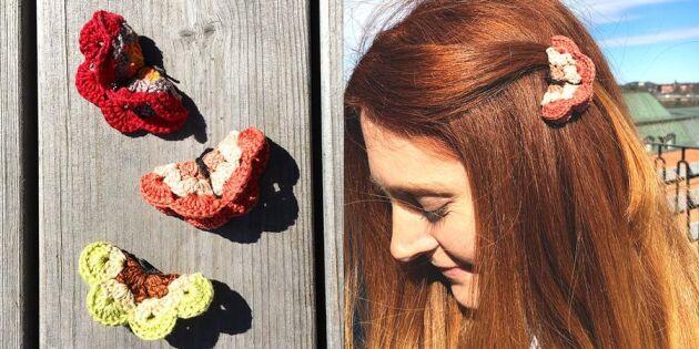 Virkade vingar! Här är mönstret till vårens finaste fjärilar