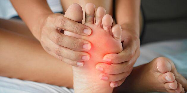 Fotspecialisten: Sluta slarva med dina fötter – börja gör det här!