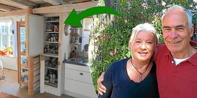 Marianne och Peters smarta idé: Så byggde vi ett naturkylskåp!