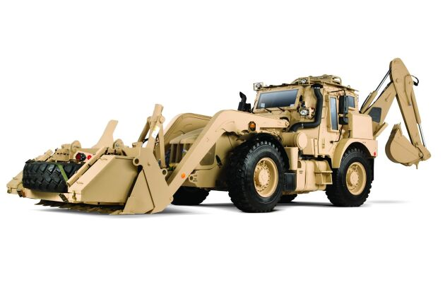 JCB:s HMEE, High Mobility Engineer Excavator såldes till den amerikanska armén.