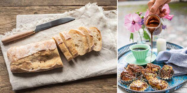 Överraska med fattiga riddare av torrt bröd – med ljuvlig glasyr!