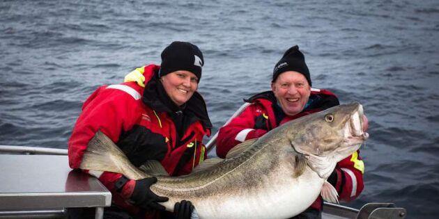 Marica från Uddevalla fångade rekordtorsken