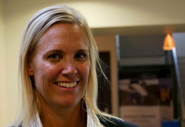 Åsa Öberg är processledare men kommer inte själv från hästvärlden. Hon beskriver hästmänniskor som starka och drivande, vilket är bra egenskaper om man vill lyckas som entreprenör.