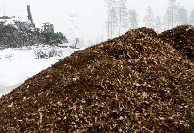 Det kommer att ta flera år att bygga upp en stor biobränslekedja från skogen till värmeverken igen, tror ATL:s marknadskrönikör Torbjörn Esping.