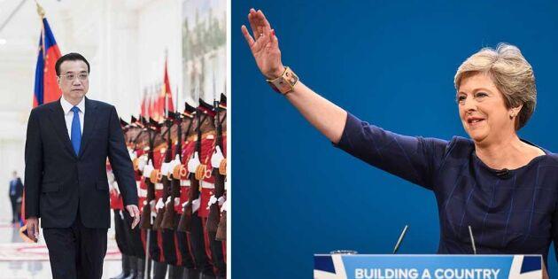 Kina och Storbritannien överens – embargot mot nötkött lyfts