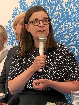 Anna Ekström, gymnasie- och kunskapslyftsminister (S).