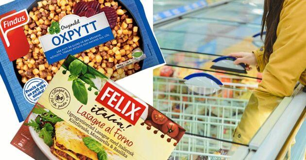 Hur mycket av råvarorna i den frysta färdigmaten är egentligen svensk? Land har undersökt.