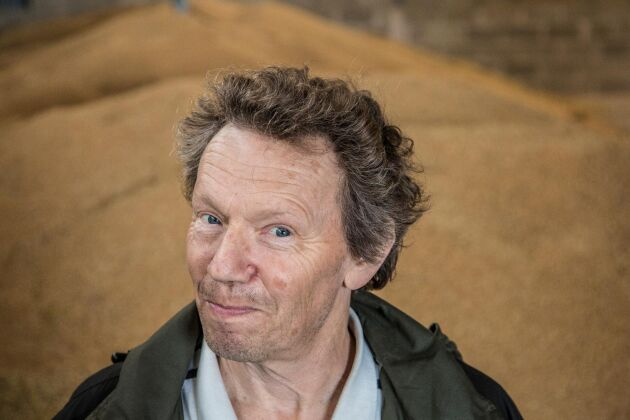 Björn Folkesson, råvaruexpert och lantbrukare på Öland.