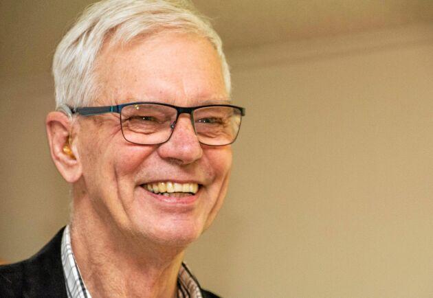 """""""Vi har många små delägare och ungefär 20 stora, lägsta insatsen var 500 kronor"""", säger Göran Holmberg."""