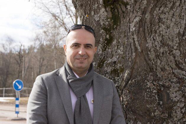 Samir Alhalabieh har arbetat med gränsprojektet i två säsonger.