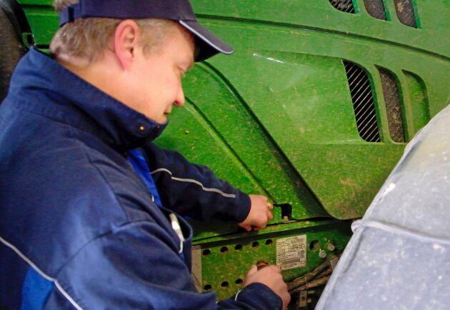 Timer. Med hjälp av timer kan motorvärmaren gå några timmar före start.
