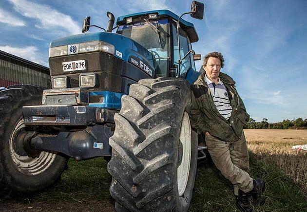 Land Lantbruks spannmålsexpert Björn Folkesson.