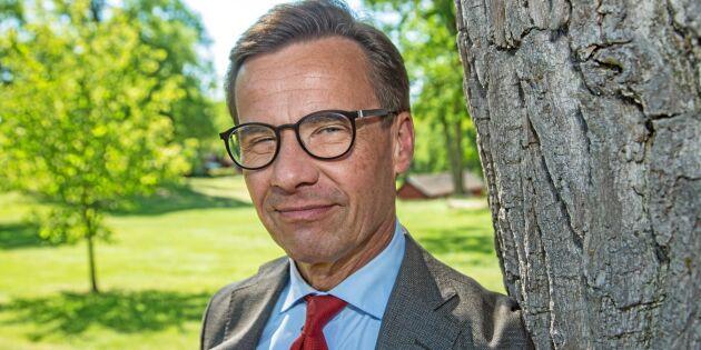 Ulf Kristersson: M:s politik gynnar bönderna som företagare