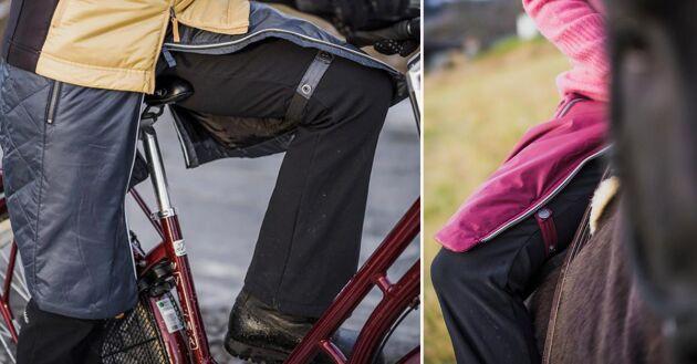 Bonnie skirt är även utrustad med benremmar för att fästa kjolen runt benen så den inte fladdrar när du aktiverar dig.
