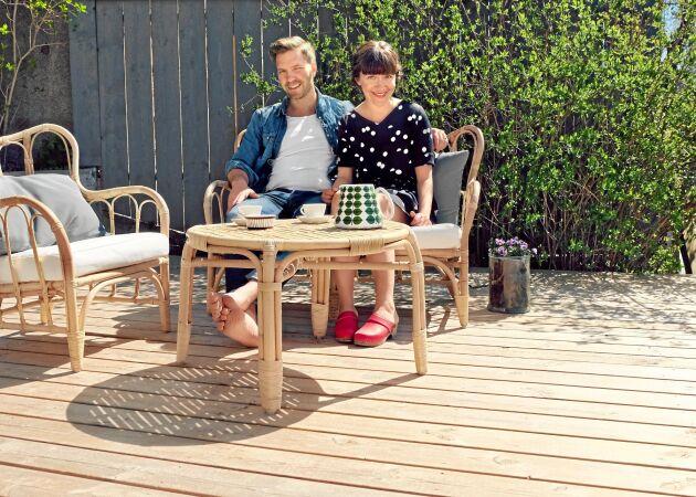 Sandra Back och David Langseth är Lands nya bloggare. Bloggen Trä, hops & kärlek handlar om att snickra och pyssla och mycket annat. Du hittar den här på Land.se!