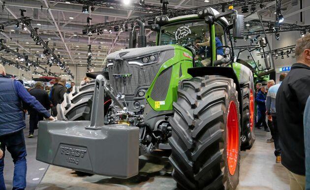 Fendt 942 Vario blev utsedd till årets traktor under Agritechnica.
