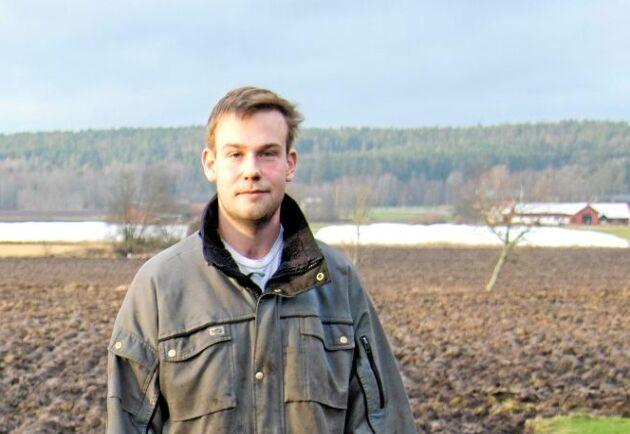 Adam Arnesson, ekobonde.