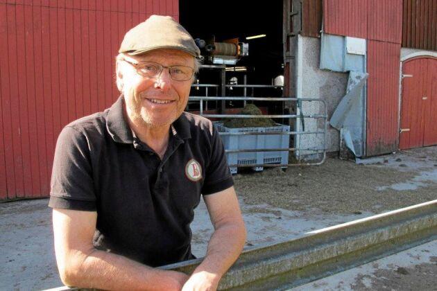 Per Brunberg, lantbrukare på Björketorps gård.