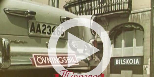 Välkommen till 50-talet - minns du trafikreglerna?
