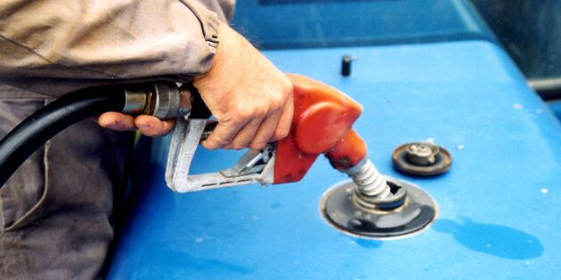 Tillfällig sänkning av bensin- och dieselskatten