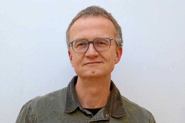 """Anders Hejnebo, Skogsstyrelsen, tror att den skarptandade barkborren hela tiden har funnits i Halland, trots att den rödlistats som """"nära hotad""""."""