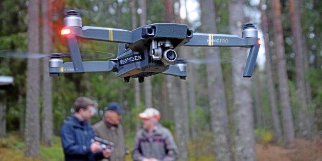 Drönare och VR tar skogsjobbet till ny nivå