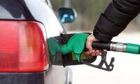 Priserna för bensin och diesel sjönk inför helgen