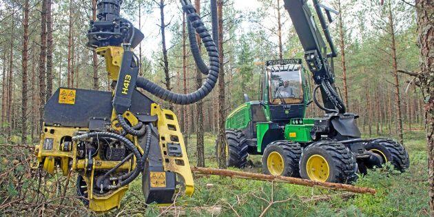 Fler yrkesbytare ska välja skogsmaskin