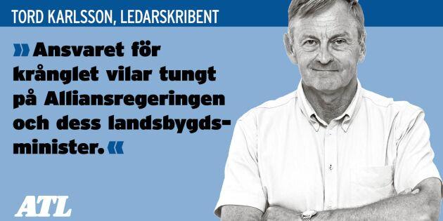 """Ledare: """"Ett politiskt och byråkratiskt haveri"""""""